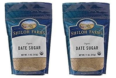 Shiloh Farms Organic Date Sugar 11 Oz. (Pack of 2)