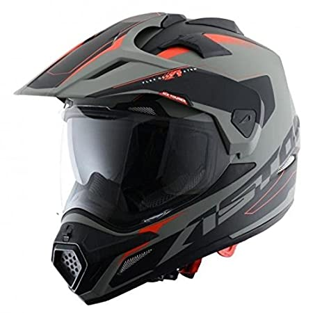 M Rouge//Noir Astone Helmets  ADVBRM  Casque Tourer Adventure