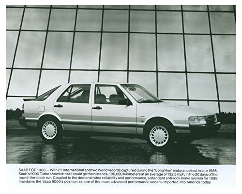 1988 Saab 9000 Turbo Automobile Photo Poster