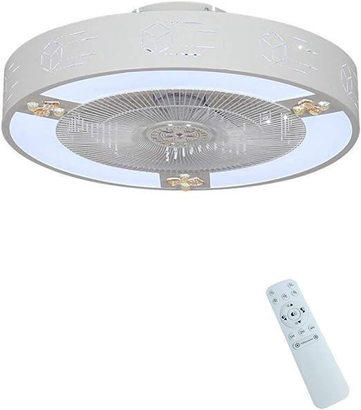 Zzxyxdd Ventilador de Techo Moderno con Base cilíndrica, Control ...