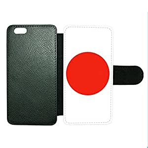 Case Fun Case Fun Flag of Japan Style 2 Faux Leather Wallet Case Cover for Apple iPhone 6 4.7 inch