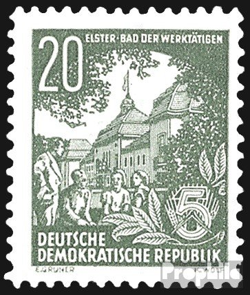 DDR 413 1953 FiveYear Plan (II) (Stamps for collectors)