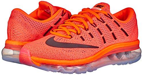Max Air Wmns Orange Glow Da Nike Black Scarpe 2016 Arancione hyper sunset Donna Ginnastica nREFxxZd5