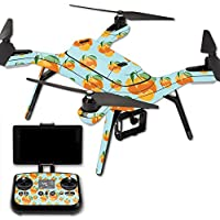 MightySkins Protective Vinyl Skin Decal for 3DR Solo Drone Quadcopter wrap cover sticker skins Orange You Glad