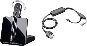 Plantronics-CS540 Convertible Wireless Headset Bundle with Plantronics EHS Cable APP-51 (Polycom)