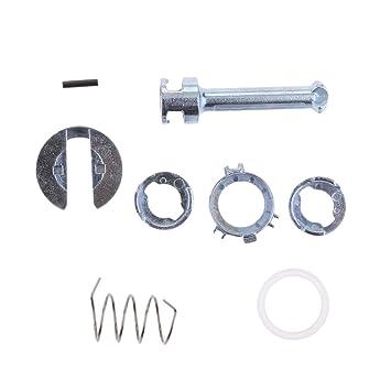 Gazechimp Cerradura de Puerta Cilindro kit de Reparación de Barril para BMW E46 3 Series: Amazon.es: Coche y moto