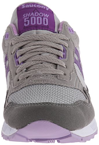 Originali Da Donna Womens Shadow 5000 Classic Retro Running Scarpa Grigio / Viola