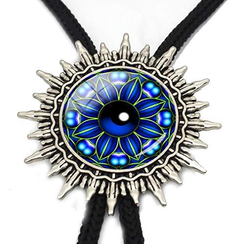 JIA-WALK Fashion Silver Bolo Tie Eye Glass Dome Necktie Hand Craft Adjustable Fashion Bolo Tie for Men Jewelry,T3 from JIA-WALK