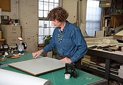Backgrounds Projects Crafts and Giving a Finish Look to Your Art /& Prints. Use for Framing Lineco 16 x 72 Acid Free Light Gray Frame Backing Paper Cut to Size Recycable Paper Durable Art