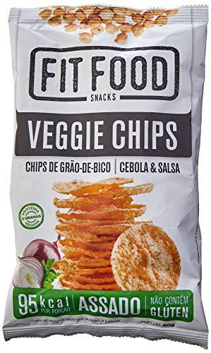 VeGGie Chips Grão de Bico Cebola e Salsa Fit Food 40g