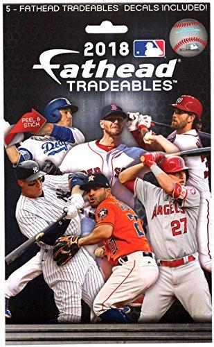 Mlb Wall - FATHEAD MLB 2018 Tradeables Pack