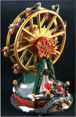 led musical ferris wheel christmas decoration - Christmas Ferris Wheel Decoration