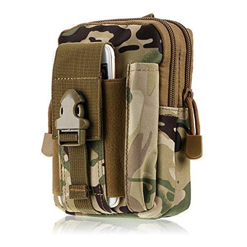 Generic Tactical MOLLE Herren Outdoor Wandern Casual Pack Taille Tasche Jagd Geldbörse Fall CP