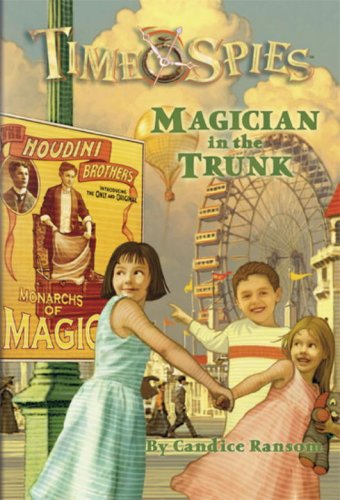 Magician Trunk Time Spies Book product image