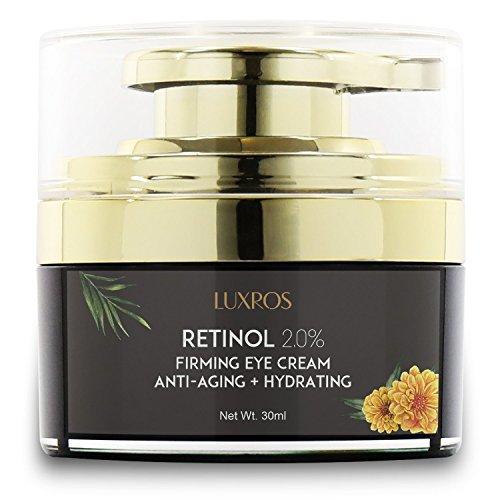 Eye Cream with Retinol 0.1, Nutrient Rich Night Cream for Under Eye Wrinkles, Anti Aging