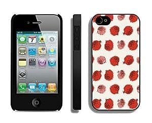 BINGO Most popular Hedgehog iPhone 4 4S Case Black Cover