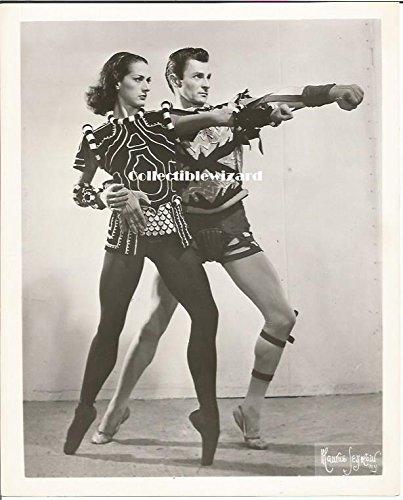 John Kriza, Lupe Serrand American Ballet Theatre - 8 x 10 inch Vintage Promo Photo 60+ years old