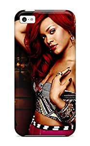 Heidiy Wattsiez's Shop Hot 3917778K18753320 First-class Case Cover For Iphone 5c Dual Protection Cover Rihanna 54