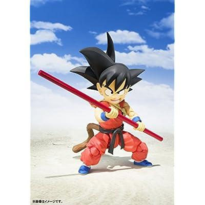 TAMASHII NATIONS Bandai S.H. Figuarts Kid Goku Dragon Ball Action Figure: Toys & Games