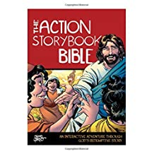 The Action Storybook Bible Hc