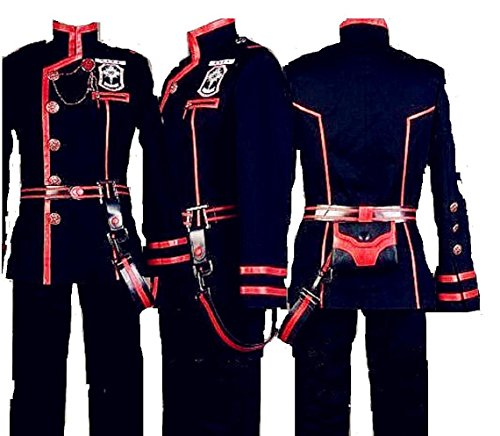 D Gray-Man Allen Walker New Version 3 Cosplay Costume]()