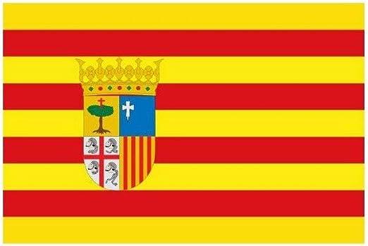 DISBACANAL Bandera de Tela Aragon: Amazon.es: Juguetes y juegos