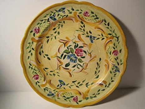 Amazon.com: Jane Keltner, Hand Painted, Italian Design Decorative Plate,  Limited Edition: Home U0026 Kitchen