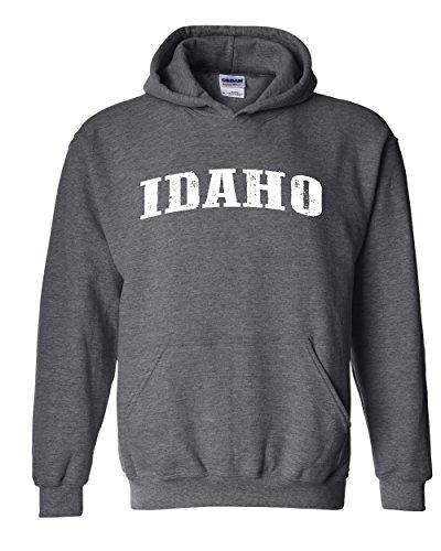 Idaho Vandal Sweatshirt (Ugo ID Idaho Flag Boise Yellowstone Map Home of Vandals University of Idaho Unisex Hoodie Sweatshirt)