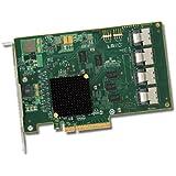 LSI Logic LSI00244 Adaptateur de bus hôte SGL 8 ports, 8 x PCIe, 4 x SAS, RAID JBOD