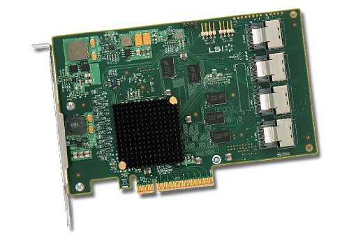 16-PORT Int, 6GB/S Sata+sas, Pcie 2.0; In The Box: Lsi Sas 9201-16I, Qig, Driver by LSI Logic