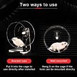 Zacro Hamster Exercise Wheel - 8.7in Silent Running