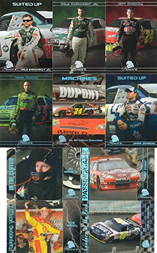 2010 Press Pass Premium Series Nascar Racing Complete Mint Basic 90 Card Set Including Jimmie Johnson, Dale Earnhardt Jr., Tony Stewart, Jeff Gordon, Richard Petty, Carl Edwards, Greg Biffle, Marcos Ambrose, Mark Martin and Many Others!