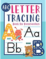 ABC Letter Tracing Book for Preschoolers: Alphabet letter tracing books for kids ages 3-5