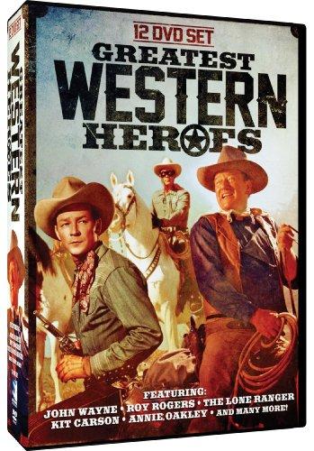 Greatest Western Heroes: John Wayne - Roy Rogers - The Lone Ranger - Kit Carson - Annie Oakley - Gabby Hayes - Cisco Kid - Angel and the Badman - - Badman Oakley