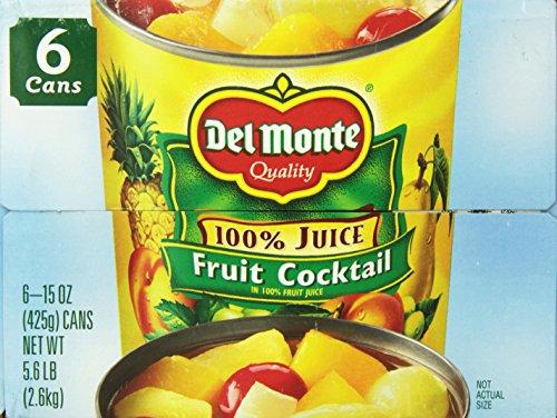 Del Monte Fruit Cocktail Cans, 15 oz, 6 Count by Del Monte (Image #4)'