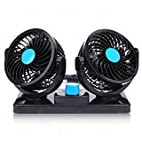 Best Zone Tech Cigarette Lighters - Zonetech 12V Electrical Car Cooling Fan-Zone Tech Rotatable Review