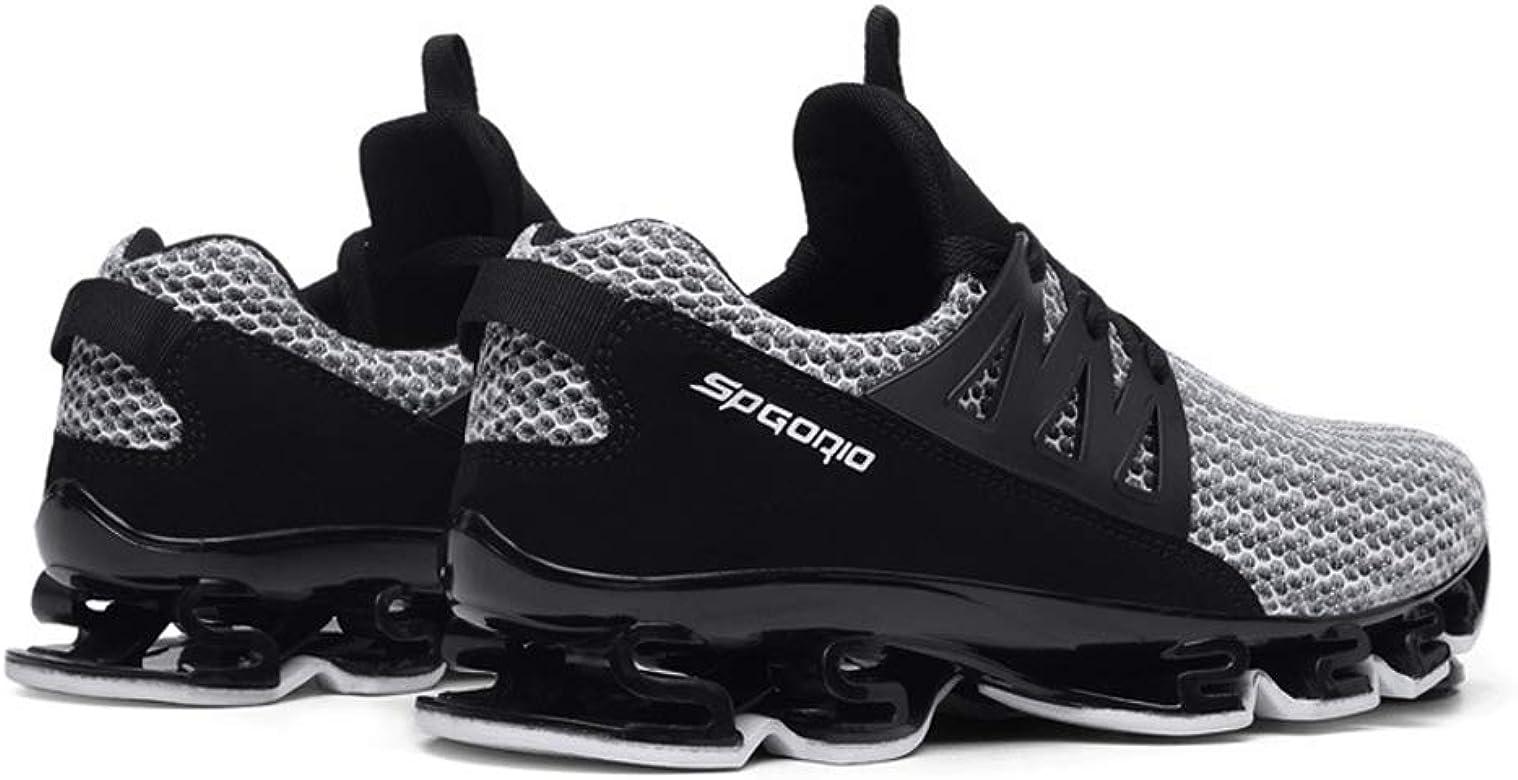 Hombres Zapatillas de Deporte Malla Transpirable Blade Trail Zapatillas de Running Casual Atheltic Tenis Caminar Entrenadores: Amazon.es: Zapatos y complementos
