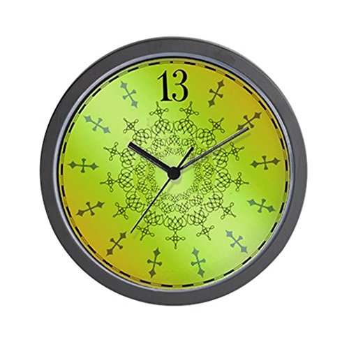 Haunted Mansion Clock - CafePress - Haunted 13th Hour Mansion Wall Clock - Unique Decorative 10