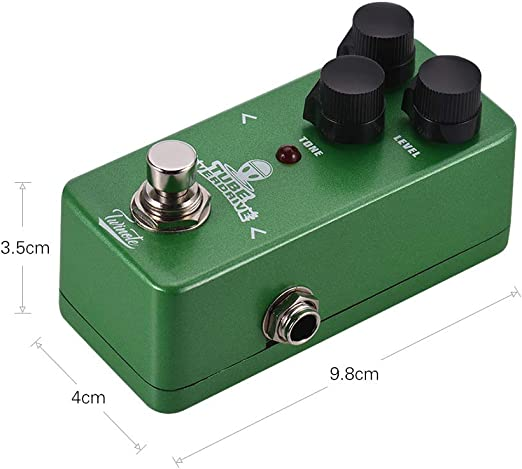 Twinote TUBE OVERDRIVE Mini Analog Overdrive Guitar Effect Pedal ...