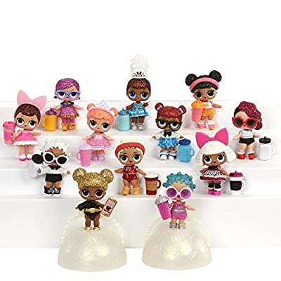 LIMITED EDITION GLITTER SERIES Ball LOL Series 1 L. O. L. from MGA Entertainment