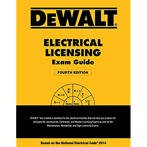 Nec 2014 code book amazon dewalt electrical licensing exam guide based on the nec 2014 dewalt series fandeluxe Images