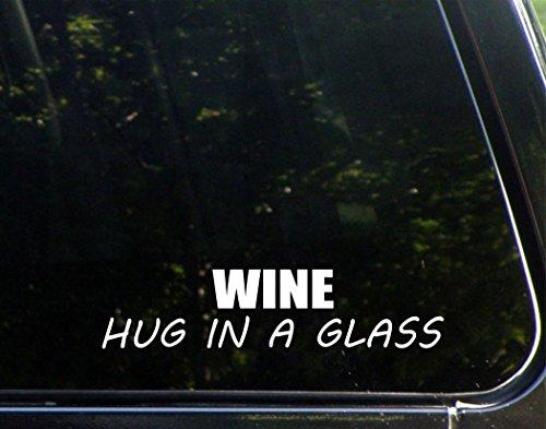 WINE Hug In A Glass - 8 3/4
