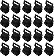 BESPORTBLE 30 Pcs Camping Tent Clips Plastic Awning Tent C Clips Tent Fasteners Clamp Holder for Canopy Tent A