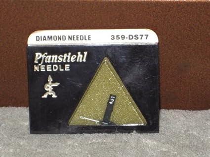 Amazon.com: pfanstiehl 359-ds77 Fonógrafo de diamantes ...