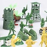 TOY Life Plastic Army Men Plus Die Cast Military