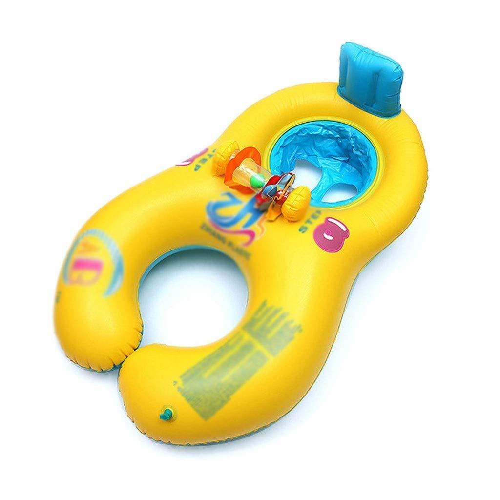QNJM Aufblasbarer Schwimmring, Schwimmring Für Sicherheitshilfen, Wasserspielzeug Für 4 Monate - 3 Jahre Alt