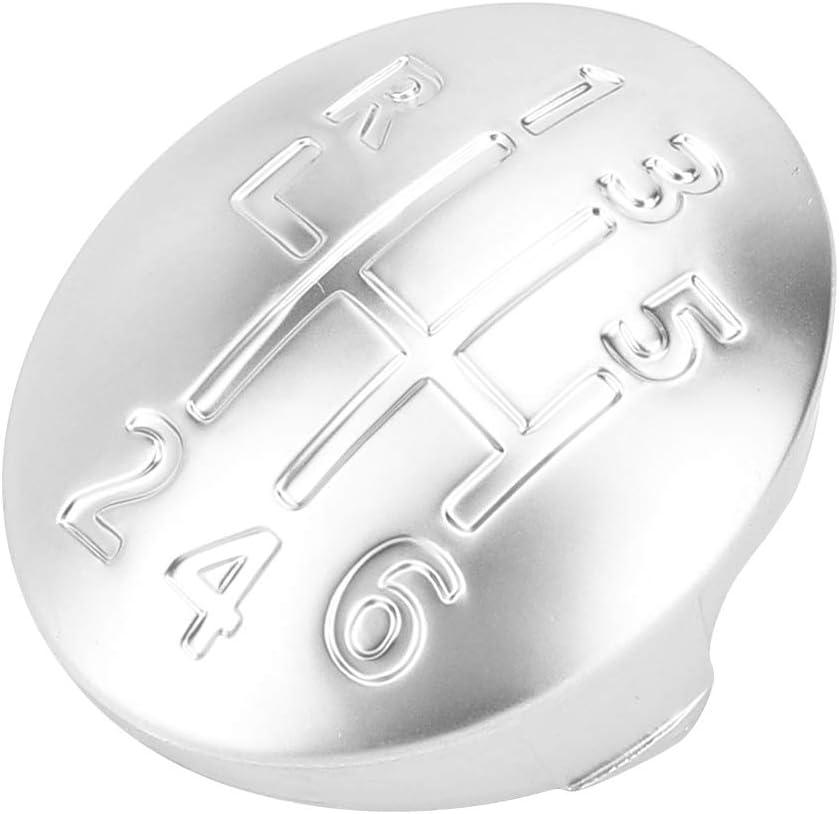 Duokon Gear Knob Cap Cover Car Manual Gear Shift Knob Cap Cover 6 Speed Fit
