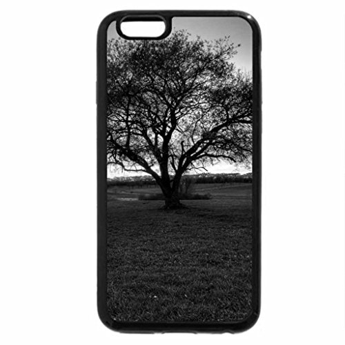 iPhone 6S Plus Case, iPhone 6 Plus Case (Black & White) - beautiful sunset on town