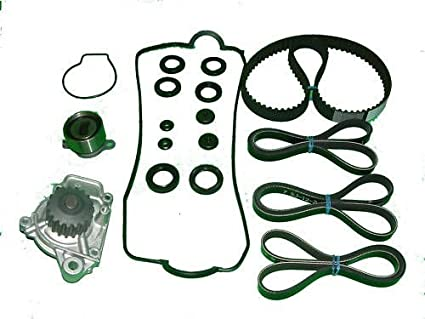 Timing Belt Water Pump Kit TENSIONER SEALS Honda Civic 92 93 94 95 VX ONLY  1.5