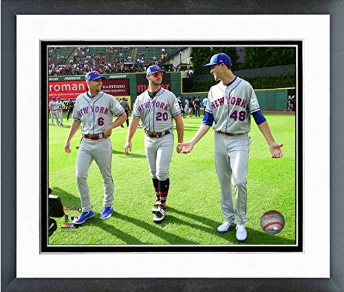 Jeff McNeil, Pete Alonso, Jacob deGrom New York Mets 2019 MLB All-Star Game Action Photo (Size: 12.5